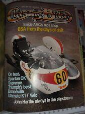 Classic Bike Magazine April/May 1981 Bonneville KTT Supreme BSA