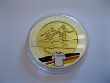"""Medaille  Fussball WM 2012  """"Polen - Ukraine""""  mit Farbe  PP  in Münzkapsel"""