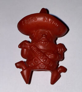 1968 Frito Bandito Red Eraser Pencil Topper Frito-Lay Prize