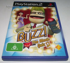 Buzz: The Music Quiz PS2 PAL *Complete*