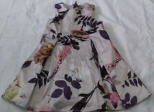 NEXT BABY GIRL DRESS FLORAL AGE 12-18 MONTHS PARTY