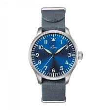 Laco ✫ Augsburg Blaue Stunde ✫ Type A Flieger ✫ Pilot Watches 42mm - 862100 Blue
