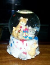 "San Frncisco Music Box Company Music Box ""Playmates"" With Playful Cats"