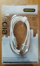 PROFIGOLD High Performance USB 2.0 A-B Interconnect 1m cable  PROM4102  NEW
