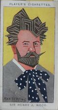 Single: No.49 SIR HENRY WOOD - STRAIGHT LINE CARICATURES - John Player 1926