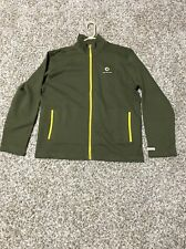 NWT Smart Car XL Zipper Sweatshirt  Open Your Mind Olive Yellow Mercedes Benz