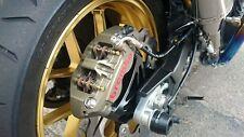 Tmax530 Tmax-530 above swingarm Rear Caliper Bracket Adapter hanger radial 108mm