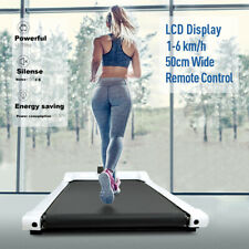 Under Desk Electric Treadmill Walking Pad Home Office Exercise Machine Portable
