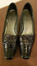 Vaneli® Ricarde Black Print Square Toe Chunky Heel Shoes Women's Size 9.5 SS