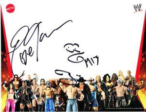 Eve Torres & The Miz autographed WWE wrestling Mattel 2010 Comic-Con promo photo