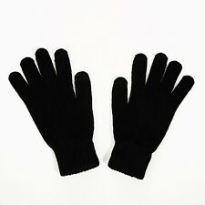 Touch Screen Magic Winter Gloves Mens Ladies For Smartphone Tablet - Black