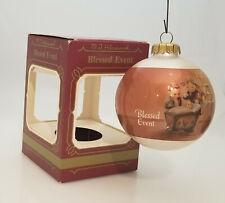 M.J. Hummel Goebel Ornament 1983 Blessed Event - Glass Ball - #157-5275-Db