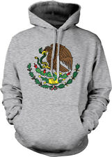 Mexico Golden Eagle Snake Coat of Arms Flag Symbol Mexican MEX Hoodie Sweatshirt