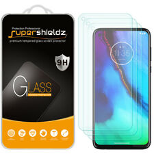 [3-Pack] Supershieldz Tempered Glass Screen Protector for Motorola Moto G Stylus