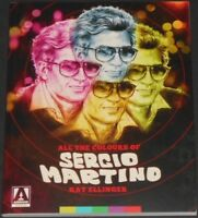 ALL THE COLOURS OF SERGIO MARTINO by kat ellinger USA BOOK new ITALIAN DIRECTOR