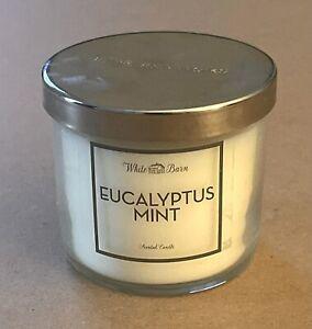 NEW Bath & Body Works Eucalyptus Mint 4 oz Single Wick Candle