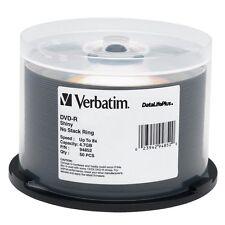Verbatim DVD-R 4.7GB 8X DataLifePlus Shiny Silver 50-Pack Spindle