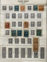 Lot of 26 U.S. Revenue and Document Stamps 1862 - 1898