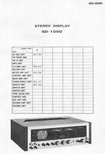 Service Manual-Anleitung für Pioneer SD-1000