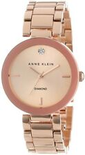 Anne Klein Watch * 1362RGRG Diamond Rose Gold Steel for Women COD PayPal
