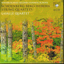 Coffret CD album: Schoenberg - Berg - Webern: strig quartets. brilliant 4 CDs. C
