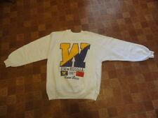 Vtg 1987 Huskies UW vs RUSSIA Windermere Cup Rowing Crew Race Sweatshirt Sz-L