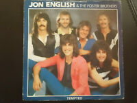 JON  ENGLISH  &  The FOSTER BROTHERS -  TEMPTED , VINYL  SINGLE  1982 , POP,ROCK