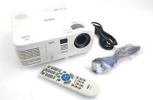 NEC NP-VE281 DLP 3D Ready Projector 2800 Lumens VGA HDMI 3452 Lamp Hrs WORKING