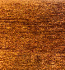 Soft Chenille Cuddle Rust Tawny Upholstery Fabric By The Yard
