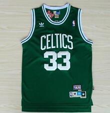 Boston Celtics Larry Bird #33 Green jersey all size