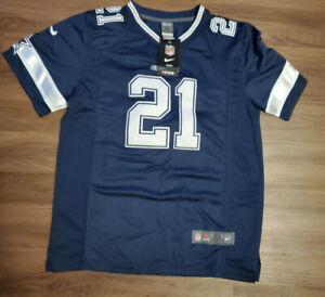 NFL Dallas Cowboys Jersey Youth size XL #21 Elliott CZ009