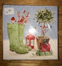 Phoenix Trading Snowy Boots Pack of 10 Christmas Cards