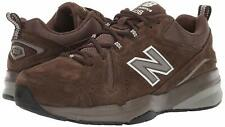 New Balance Mens MX608 Low Top Lace Up Walking, Chocolate Brown/White, Size 10.0