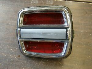 OEM Ford 1968 1969 Torino Fastback Tail Light Lamp Assembly Bezel Lens (1 only)