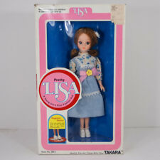 Vtg Pretty Lisa Doll with Original Box Takara Made in Japan