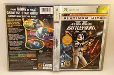 Star Wars: Battlefront II 2 (Microsoft Xbox, 2005) Complete Tested