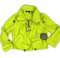 Ashley 26 International Women Jr. Med. Jacket Green Coat Lightweight 12409-RT  X