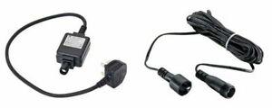 Ikea Skruv Outdoor Transformer IP44 / IP65 5m Cable 6w 24V Capacity 240V UK Plug