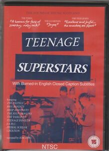 TEENAGE SUPERSTARS The Sound Of Young Scotland DVD NEW Subtitles NTSC