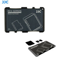 Compact Wallet Memory Card Holder Storage Case for 2 SD Cards + 4 Micro SD Cards