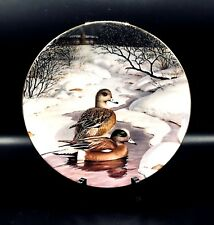"1988 Wildlife Plate Collectible ""The American Wigeon� Jerner Knowles"