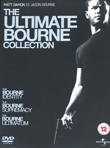 The Ultimate Bourne Collection DVD Trilogy (jce) Free Shipping