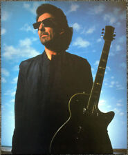 THE BEATLES POSTER PAGE . 1987 GEORGE HARRISON & GRETSCH DUO JET GUITAR . D45