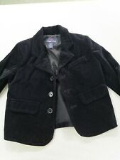 Class Club toddler boys Holiday black velvet jacket 2  - 2T