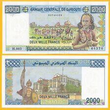 Djibouti 2000 Francs p-43 2008 UNC Banknote