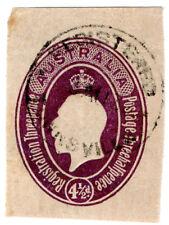 (I.B) Australia Postal : GV Registration 4½d