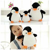 New PENGUIN Stuffed Animal Plush Soft Toys Cute Doll Pillow Cushion 20/28/38cm