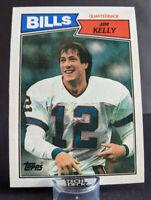 1987 Topps #362 Jim Kelly Rookie Card RC Buffalo Bills Legend HOF 🏈 🔥