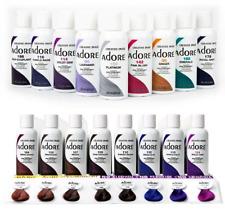 Adore Semi Permanent Hair Color 118ml Vibrant & Vivid Long Lasting *Amonia Free