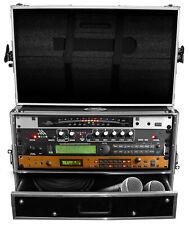 "ProX XS-WM4U2DR 4U Rack Case w/ 4U Rack Drawer For 19"" Amps/Mixers/Mic Receiver"